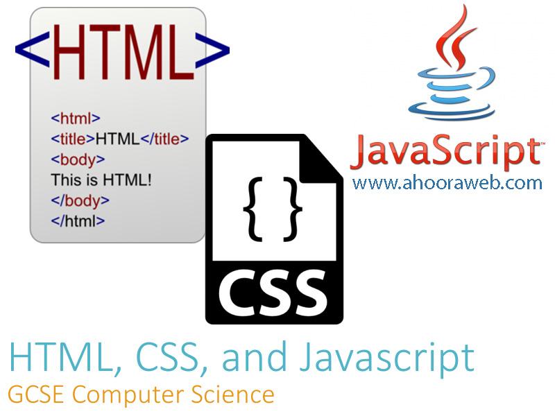 html css javascript نسخه موبایل وب سایت اهورا وب